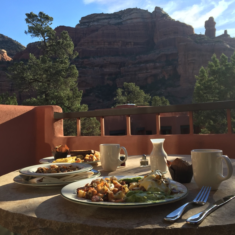 Breakfast with a view <3