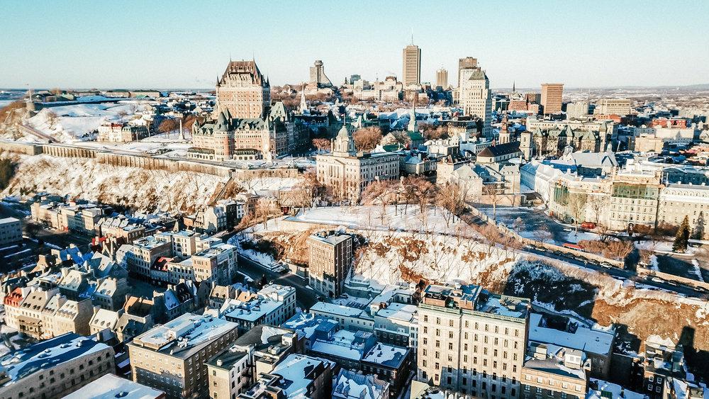 Quebec City views!