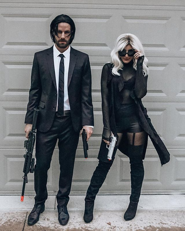 Channel your alter ego this #Halloween #JohnWick #AtomicBlonde #jpluskhalloween