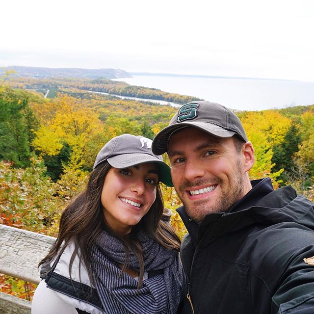 Taking in these last few #michiganfall hikes before the snow comes, which looks like this week... great... 🍁❄️❤️
