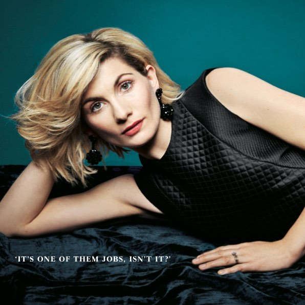 Tonight!!! Finally! So excited to watch #drwho tonight @bbcone with fabulous #jodiewhittaker. A recent shoot 💄by me, hair by @mathewsoobroy photo by @dankennedyphoto and styling by @pruewhite 🤗#cldcommunications