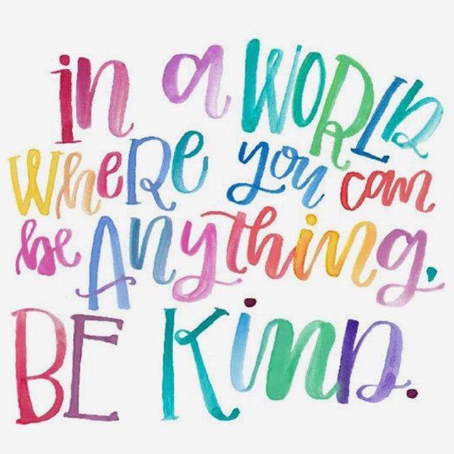 Spread kindness 💗#worldmentalhealthday2018