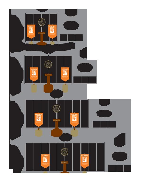 Creed Tour set diagram