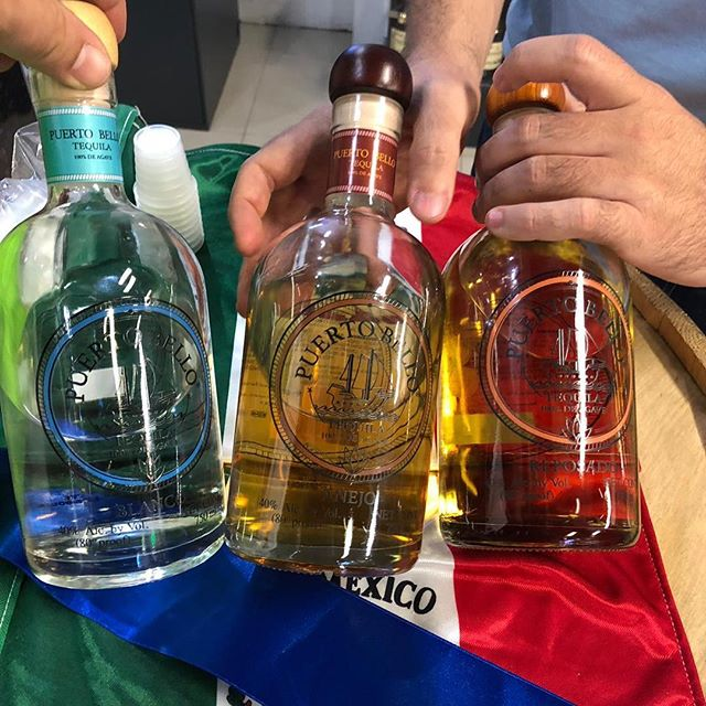 we had a great time last Saturday at our tasting with @officialpuertobello. What a delicious tequila 💯 % agave! Don't forget to swing by and get your bottle.  #tequila #tequilashots #tequilaañejo #tequilablanco #tequilareposado #puertobellotequila #weekendinmiami #miamibeach #miami #whotelmiami #onehotelmiami #setaihotelmiami #collinsavenuemiami #lifestyle #spirits #miamigirls #miamipromoter #goodtequila