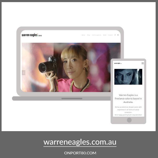WARREN EAGLES   Web Design