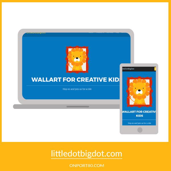 LITTLE DOT BIG DOT   Graphic & Web Design
