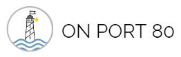 On Port 80 logo