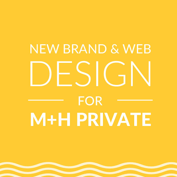 Brand & Web Design for MH Private, On Port 80 Web Design, Brisbane, Australia