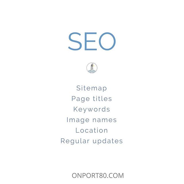 🌱 SEO - how can you help search engines find your website? 🌱 Give your pages meaningful and specific names - The helps search engines to quickly know what the page is all about. . 🌱 Repeat the keywords in headings and long-form content - Keywords are not enough. Longer texts show your competence and the quality of your website. . 🌱 Name all your images - Describe what is happening and include your business name, your main service and your location. . 🌱 Include your location everywhere - Search engines can then find your business for a certain location. . 🌱 Update your website regularly with amazing content for your users - The more you update your website content, the more often Google will come back and check for what's news. :) . 🌱 Provide a sitemap of your website - It is easier for search engines to properly index your website . Click on the link in my bio for the full blog post with indications ✔️ . . . . #onport80webdesign #webdesign #brisbanewebdesign #onlinemarketing #squarespace #brisbane #bulimbabusiness #smallbusiness #marketing #brisbanebusiness #bulimba #hawthorne #webdesigntips #fontstyle #font #branding #brand #seo #squarespacedesigner #tip #heatdrying #yogabusiness #blog #blogging #onlinemarketing #website