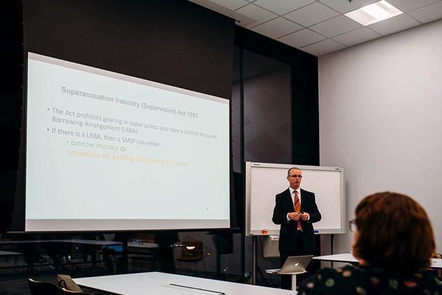 Seminar action with Mark Rice!  #seminar #investing #harcourtsringwood #harcourts #realestate
