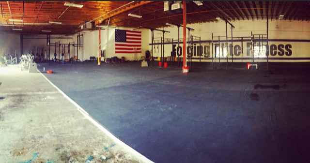 CrossFit Magna, photo taken by me.