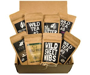 Wild Foods sources quality ingredients from small producers to produce products that are always free of: grain, gluten, soy, refined Sugar, refined Salt, preservatives, and artificial chemicals. They are dedicated to protecting the planet and creating availability for healthy ingredients to everyone. -