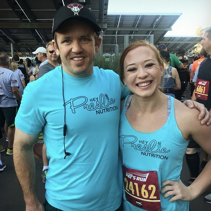 Pat's Run w/ Team Hey Preslie - April 21, 2018 | Tempe, AZ