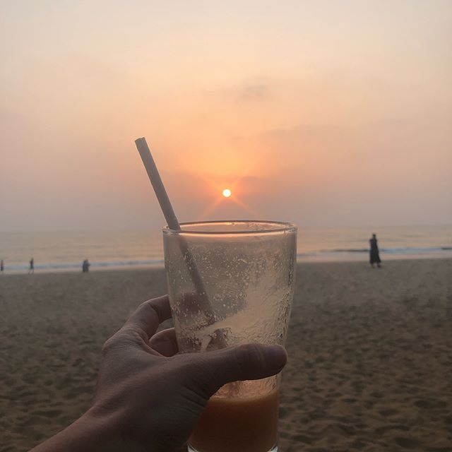 I am missing my @bela_drink but finishing #internationalwomansday with a papaya smoothie in Goa, India isn't anything to be complaining about.  It's Béla drinks 1st birthday today and they are doing a #giveaway to celebrate.  ONE CASE of #beladrink, all you have to do is:  _  1.  Follow me & @beladrink 2. Like this post  3. Tag a friend  _  You can enter as many times as you want.  Winners will be announced on March 12.  #atl #atlanta #atlyoga #atlantayoga #dirtysouthyoga #healthy #health #jennykontosyoga #paradise #yogalove #yoga #harmony #hydration #amazon #biohacking