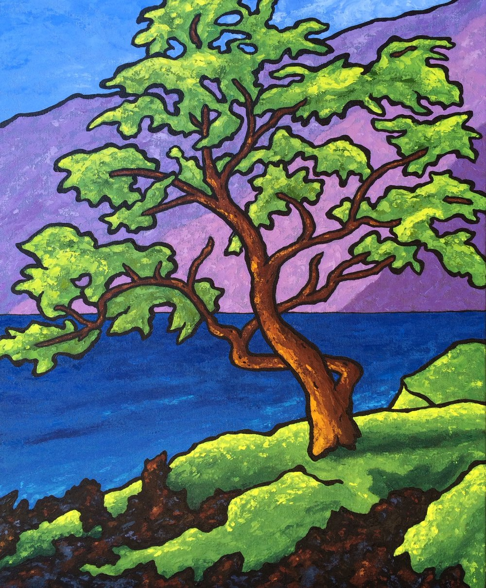 Tree at Wailea Point - 24x20