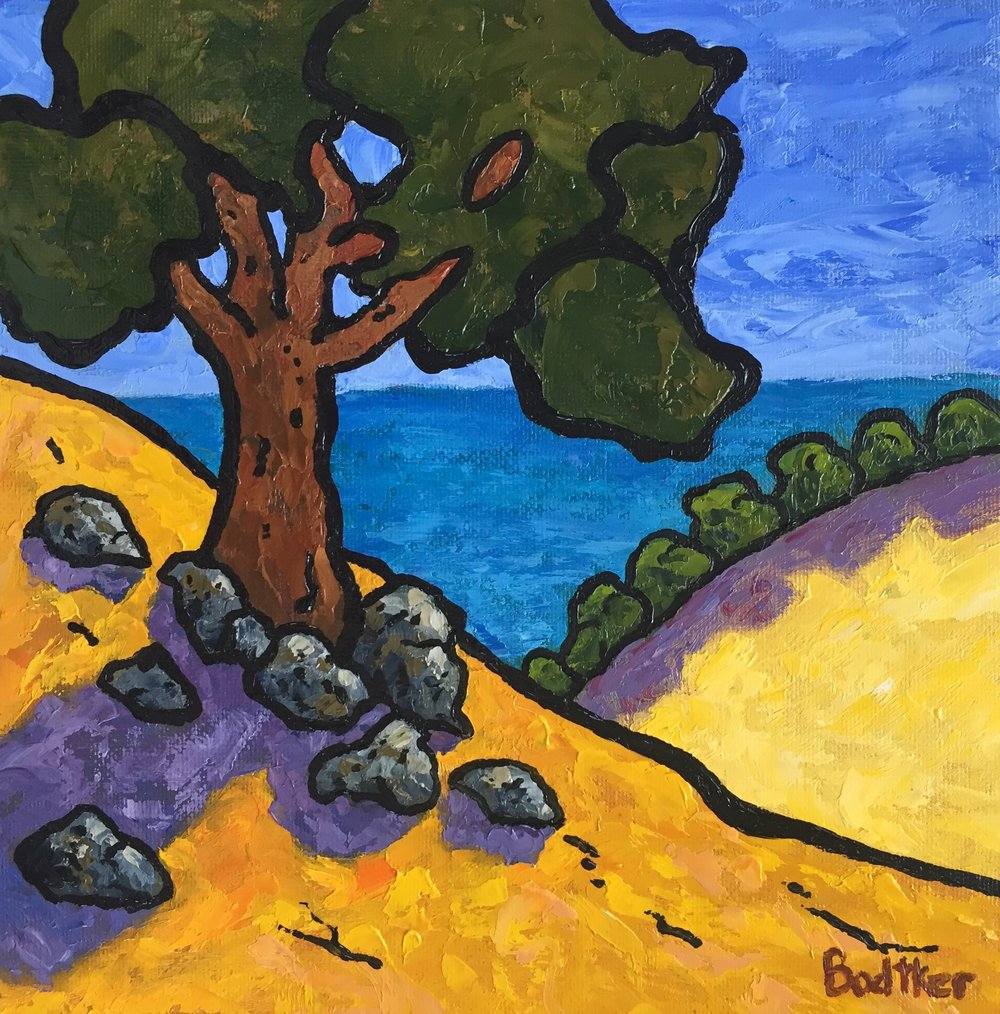 Oaks and Pacific - 8x8