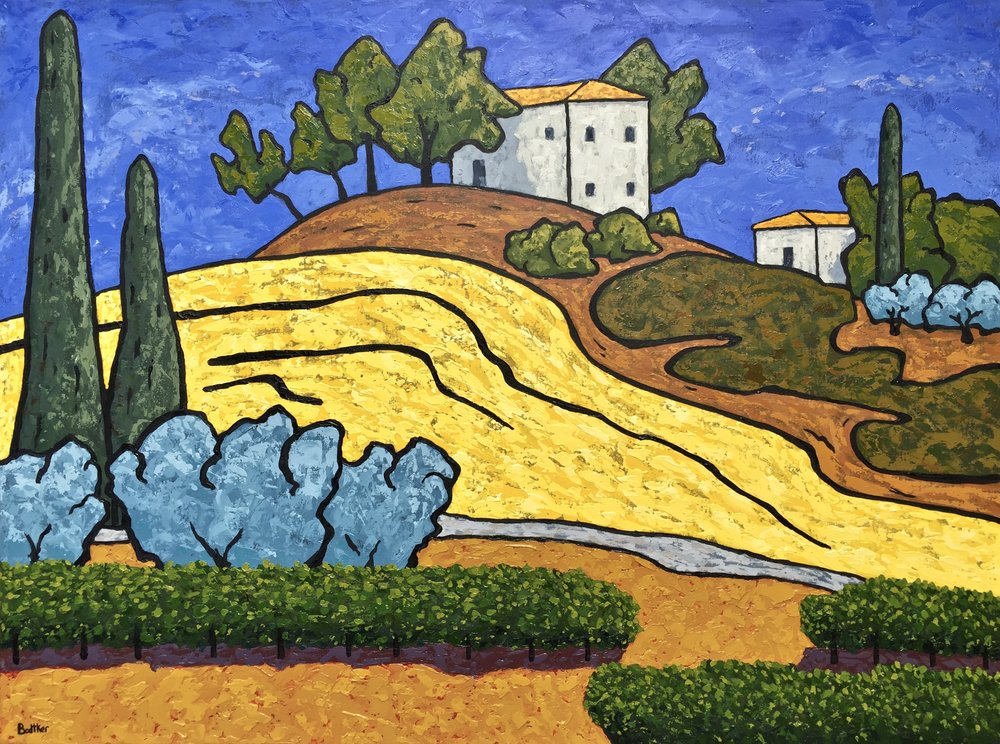 Afternoon in Tuscany - 36x48