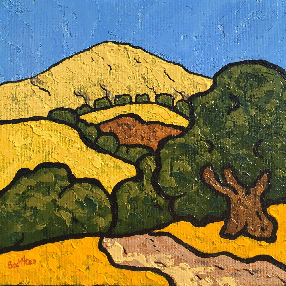 Heading Up To Mission Peak - 8x8
