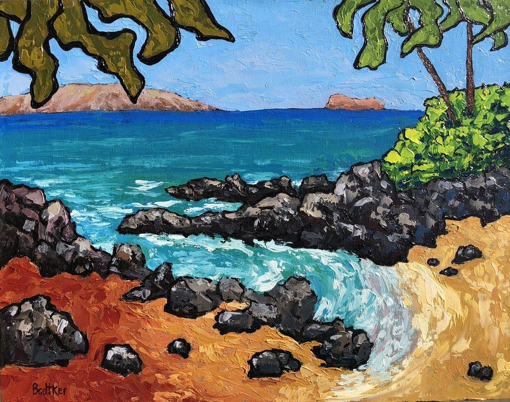 Makena Cove - 11x14