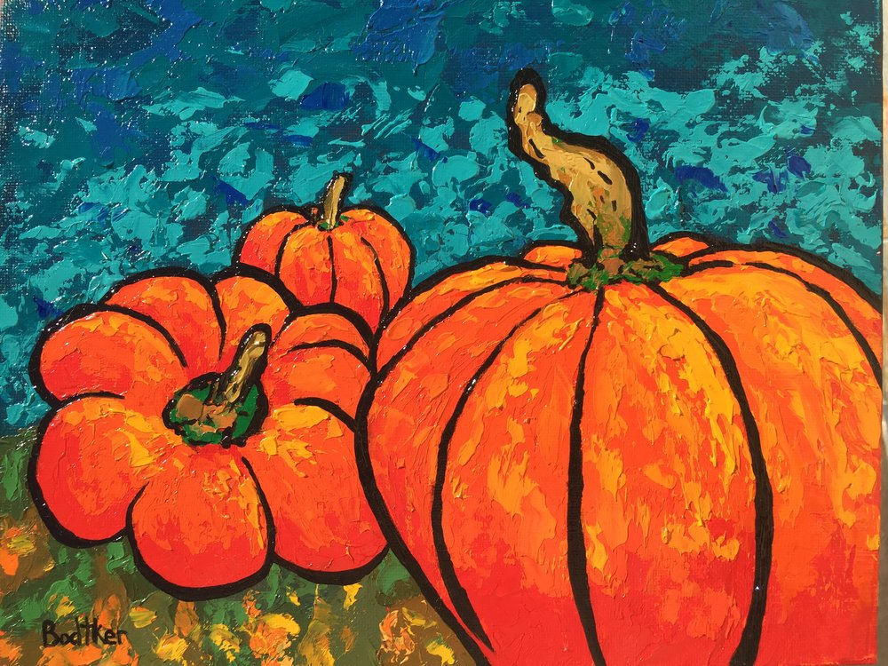 Pumpkin Patch - 8x10