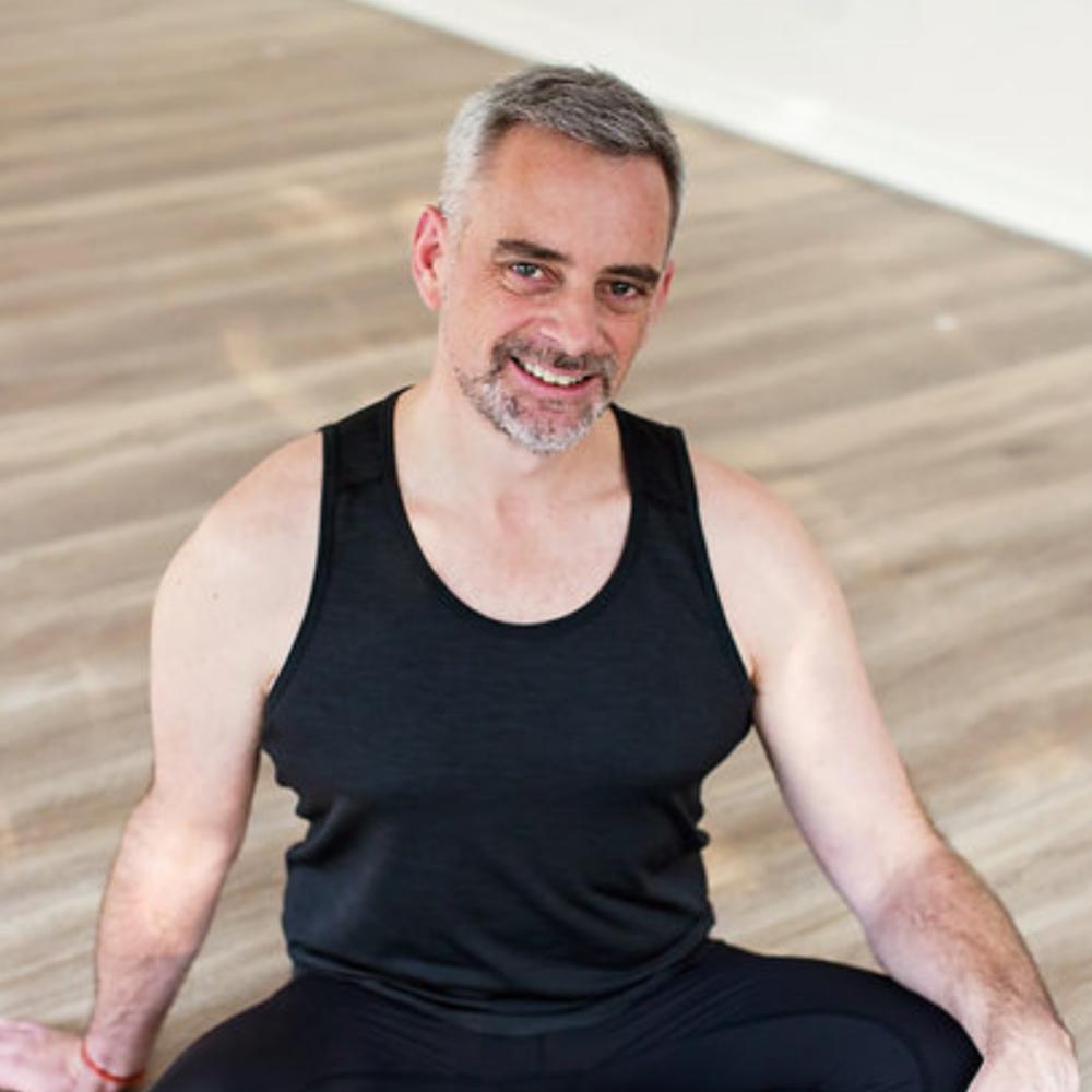 Brett Parris, Yoga Teacher.