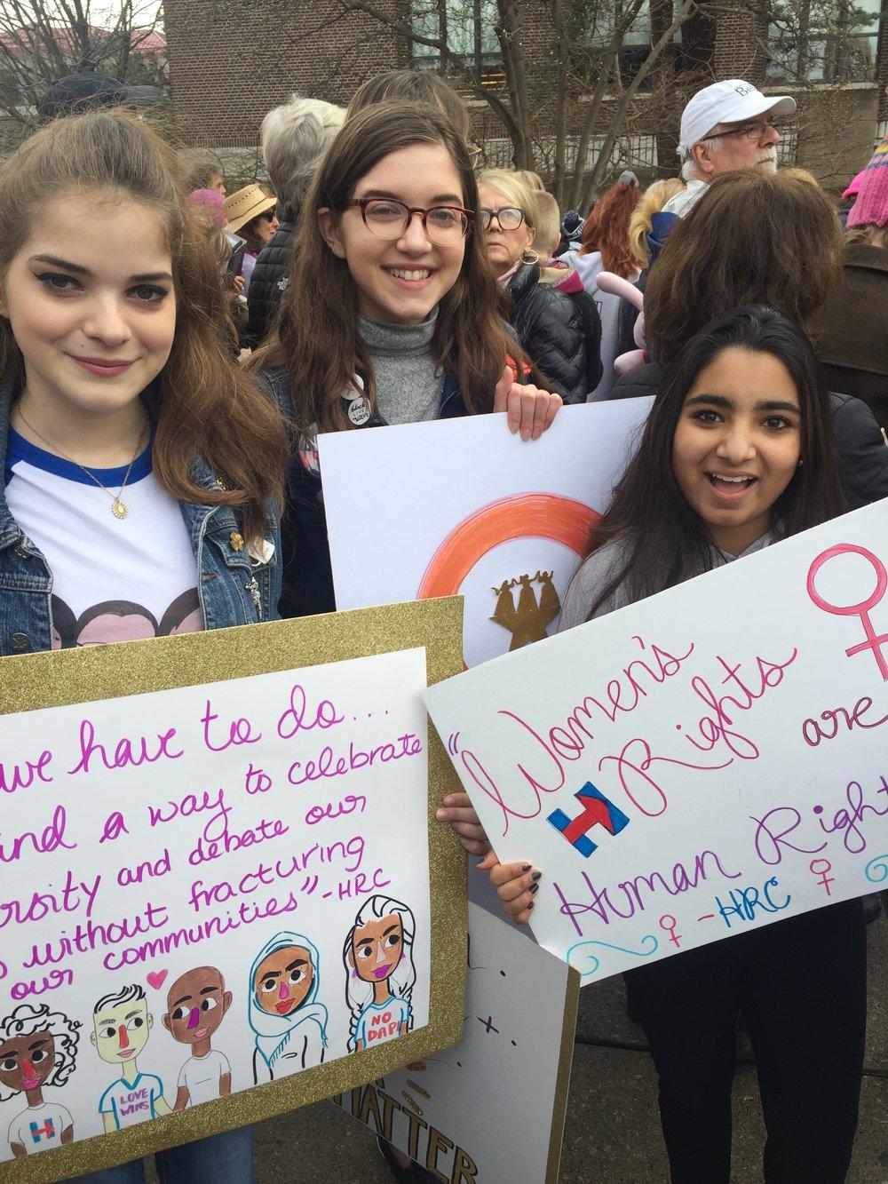 Michigan Skyline High School Feminist Club