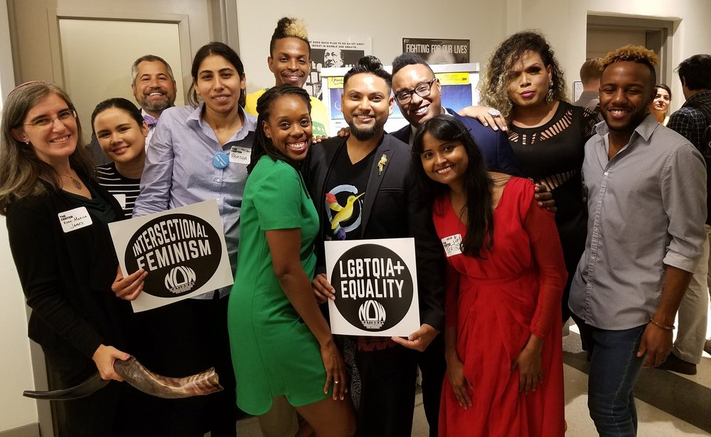 LGBTQAI+ Muslims & Allies I nterfaith Even  Sold-out event brought together seven separate organizations for the first time, both religious and secular.