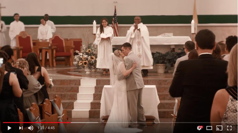 Watch Recent Wedding Videos