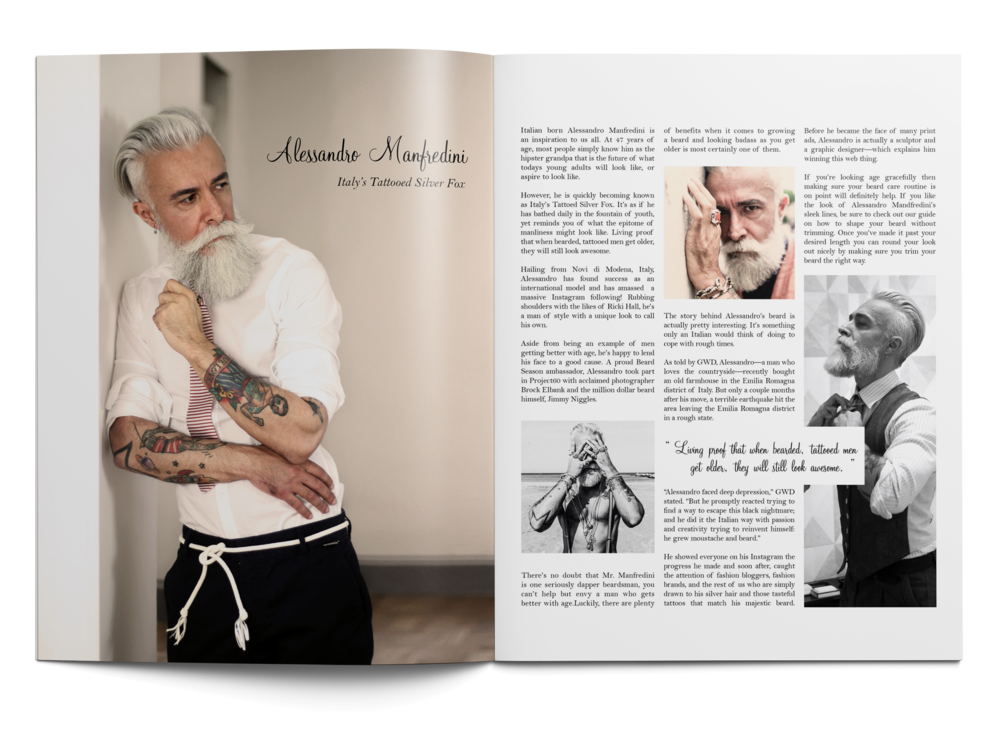 Inked Culture Magazine — Alexis Avalos Design
