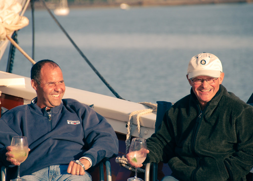You'll soon be enjoying the company of your fellow schooner mates.