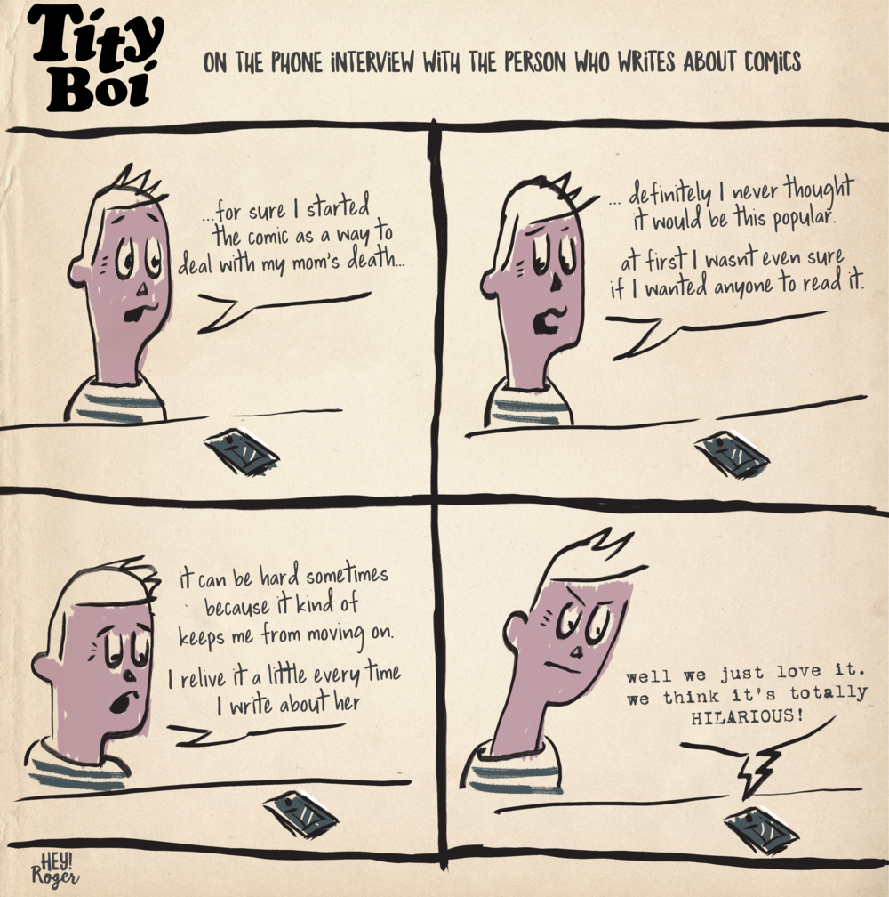 A webcomic about comic book reviews.