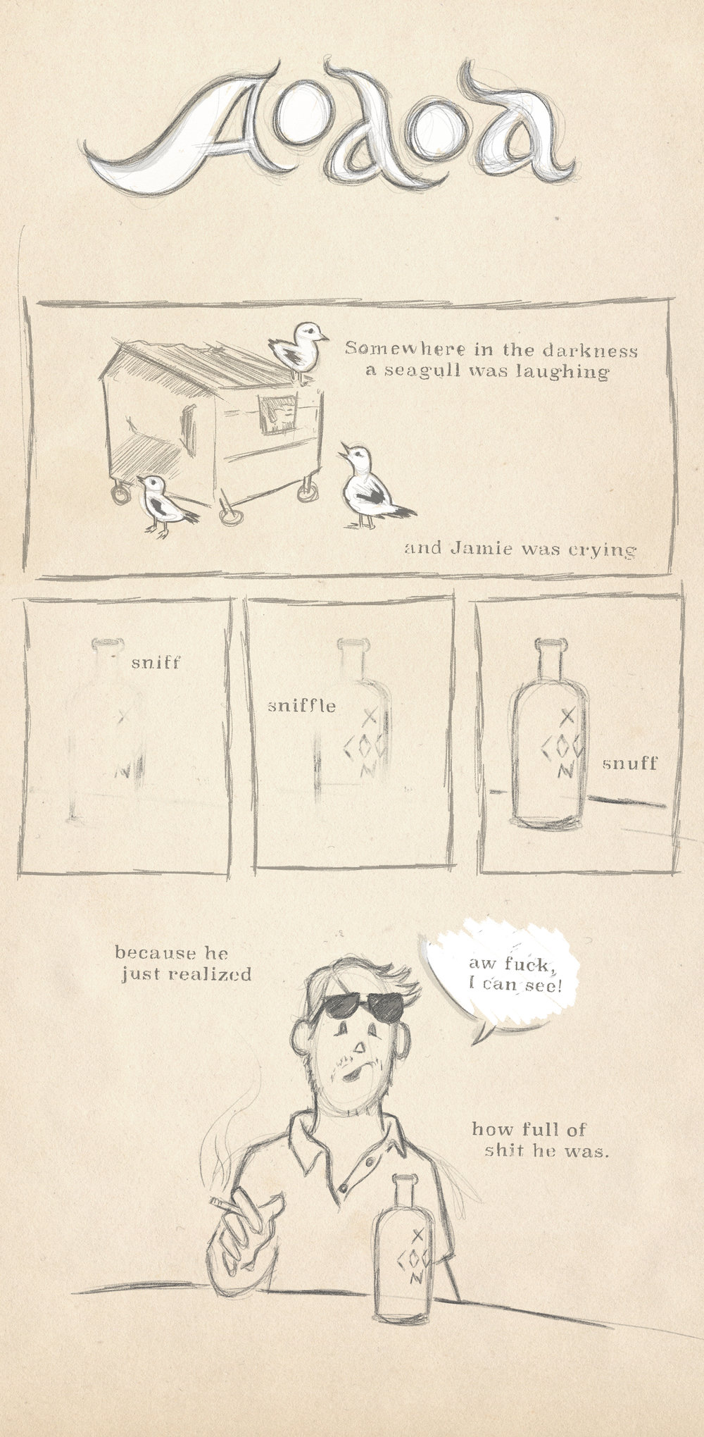 Chapter one of the HeyRoger webcomic AOAOA.