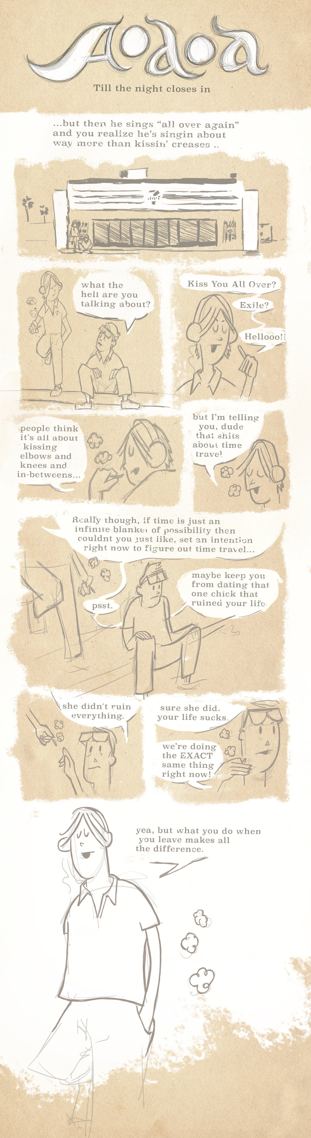 Chapter two of the HeyRoger webcomic AOAOA.