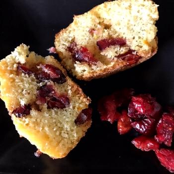 orange&cranberry-muffins