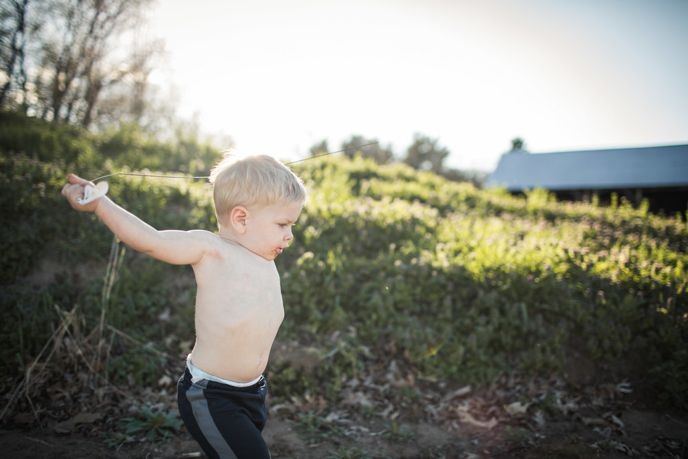 Exploring, Connected, Powerful, Lifestyle Family Sunset Session, Farm, Indiana, Laura Duggleby Photography-5.JPG