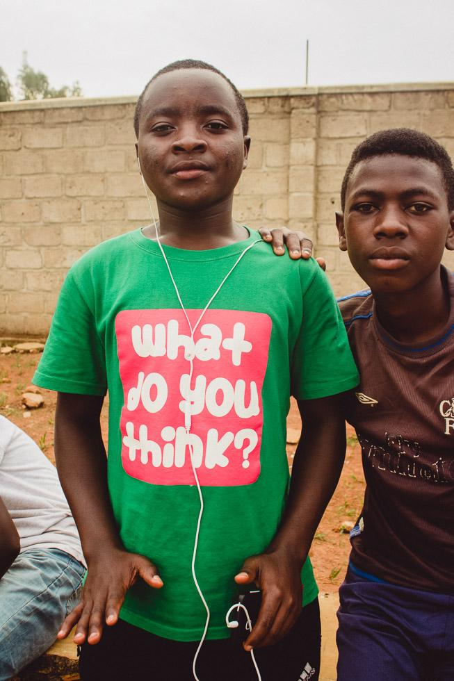 boy in Rwanda