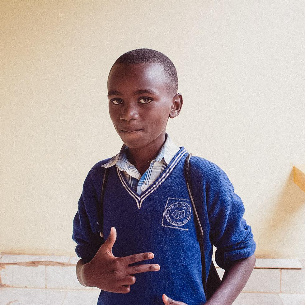 child in rwanda
