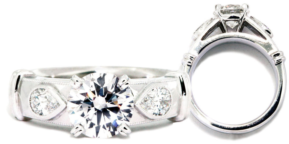 Custom Designed Engagement Ring