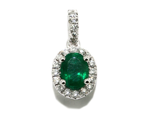 Elegant diamond and emerald pendant gemstone pendants washington elegant diamond and emerald pendant aloadofball Choice Image