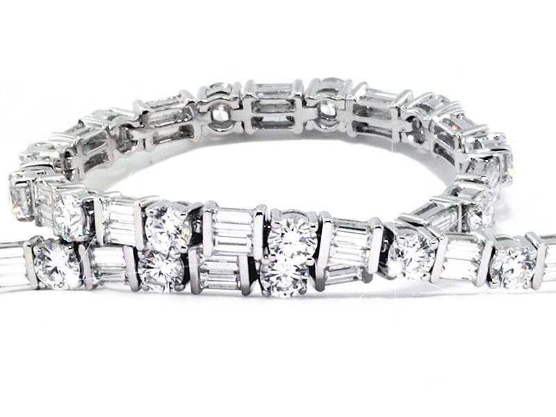 a luxurious jewelers singer steven bangles bracelets diamond bangle baguette bracelet w tennis