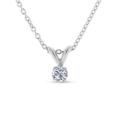 Solitaire diamond pendant washington diamond solitaire diamond pendant aloadofball Images