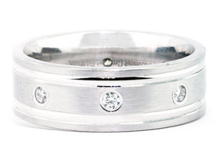 ring white deep rings fit comfort waves narrow etched celtic wedding