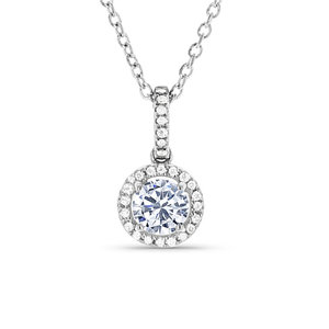 Diamond pendants washington diamond halo style diamond pendant aloadofball
