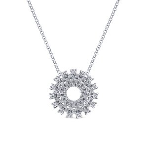 Diamond pendants washington diamond diamond circle cluster pendant aloadofball