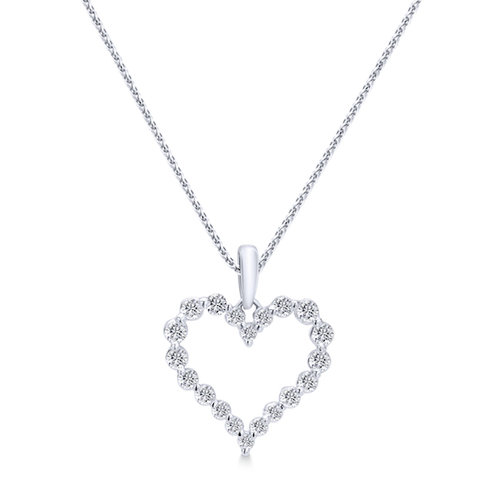 Heart shaped diamond pendant diamond pendants washington diamond heart shaped diamond pendant aloadofball Gallery