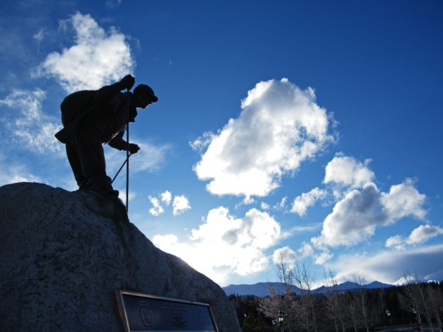 10th Mountain Division Statue - Breckenridge, Colorado  |  photo[stacysanchez]