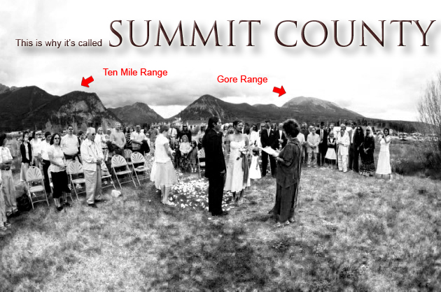 This is why it's called SUMMIT COUNTY.  |  photo[robinjohnsonphoto.com]  Breckenridge Wedding Photography