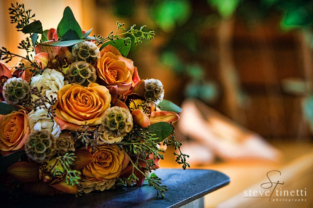 Custom made bouquet for a fall wedding at the Keystone Ranch in Keystone, Colorado  |  photo[stevetinettiphoto.com]