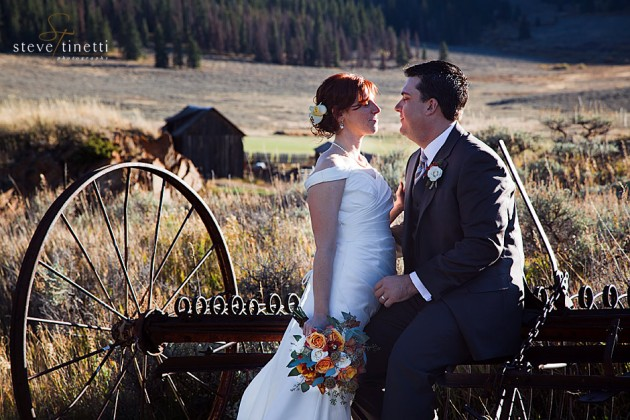 Krissy + Scott // Keystone Ranch and Golf Course, Keystone Colorado  |  photo[stevetinettiphoto.com]  Keystone wedding photography