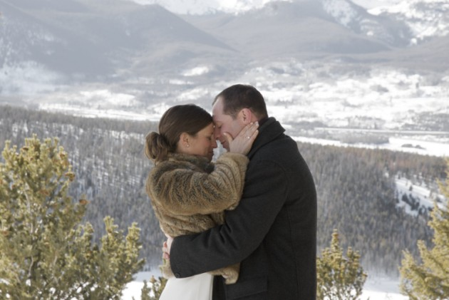 Nicole + Garri: A Winter Wedding at Sapphire Point, near Breckenridge, Colorado.  |  photo[zanderography.com]